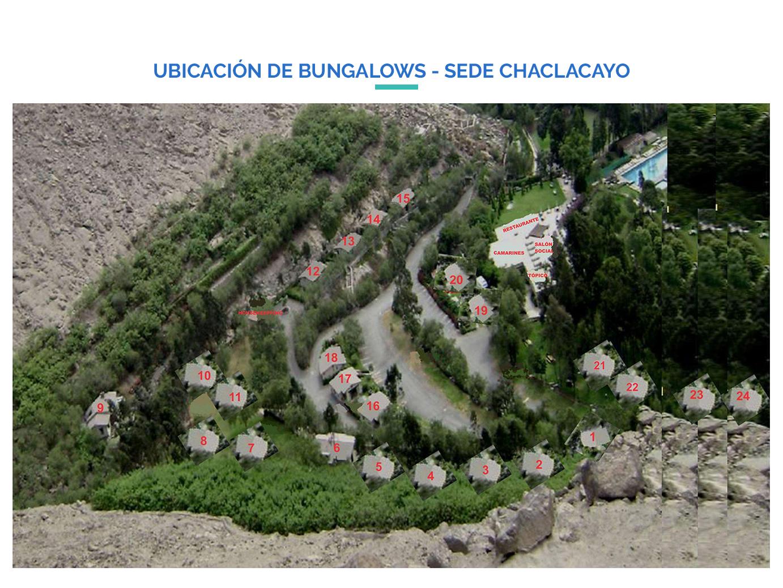 Adjudación De Bungalows Sede Chaclacayo
